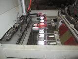 Dfr450X2 deux ligne sac de découpage de la chaleur de thermocollage faisant la machine