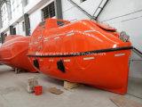 Bote salvavidas total incluido de 25 personas con el pescante del brazo del Luffing para la buena venta