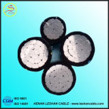 Кабель ABC сердечника горячего сбывания алюминиевый изолированный PVC