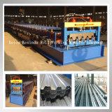Decking do piso de aço frio que dá forma à maquinaria