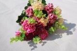 擬似アジサイのホーム結婚式の装飾の卸し業者のための絹の人工花