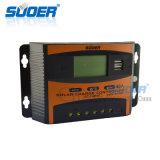 Contrôleur solaire d'énergie solaire de système domestique de Suoer 48V 40A (ST-C4840)