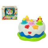 Brinquedo eletrônico do partido do bolo do presente de aniversário (H2162055)