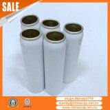 Bouteille d'aluminium cosmétique avec lotion et pompe à vaporiser