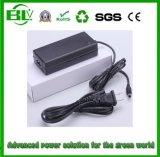 chargeur de batterie de la batterie 100V-240V de Li-Polymère de lithium de Li-ion de 33.6V 1A pour le bloc d'alimentation avec le cordon d'alimentation personnalisé
