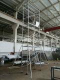 Échafaudage de bâti qualifié par ce de GV pour la construction