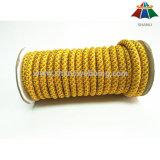 Hochfestes 10mm multi Farben-Nylon/umsponnenes Seil/Netzkabel des Polyester-/pp. mit reflektierender Seide