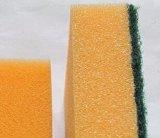 Garniture de récurage non-abrasive de nettoyage d'éponge molle respectueuse de l'environnement pour la cuisine