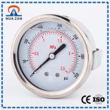 Único Manómetro da Água do Uso da Indústria das Medidas do Manómetro da Coluna