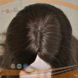 Parrucca centrale superiore di seta delle donne della parte della bella di disegno della pelle più libera frangia della parte superiore