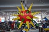 LEDの膨脹可能な照明星、党装飾の照明球はC2021を主演する