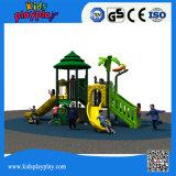 Patio al aire libre del equipo de la venta del puente de oscilación del parque de atracciones