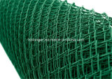 PVCによって塗られる電流を通されたチェーン・リンクの金網の囲うか、またはダイヤモンドの金網