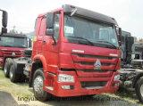 Caminhão do trator de HOWO 6*4 com potência de cavalo elevada