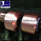 Lo stimolante del filato FDY 70d/24f FDY del filamento del poliestere ha tinto