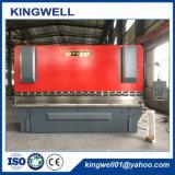 Máquina do freio da imprensa hidráulica do CNC da placa de metal (WC67Y-200TX4000)