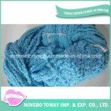 Fio extravagante feito malha de grande resistência do algodão de lãs do lenço
