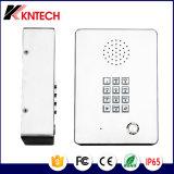 Telefone de aço industrial Telefone sem fio Knzd-03 Telefone de elevação de aço inoxidável