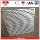 la maille perforée en métal de 20mm couvre les panneaux en aluminium percés par écran perforé avec des couleurs facultatives