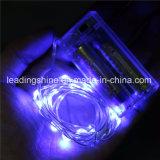 Batterie Lumière Fée Bleue LED Fée Operated