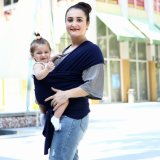 アマゾン熱い販売法の綿の多彩な赤ん坊の覆いのキャリア