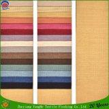 Las ventas calientes se dirigen la tela tejida materia textil de la cortina del apagón del franco del poliester