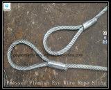 Fournisseur flamand d'élingue de levage de corde de fil d'acier d'oeil