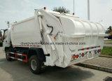 4X2 FAW 6 toneladas de la basura de la compresa del carro 6 de la basura M3 de carro del compresor