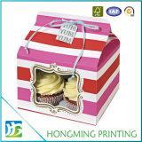 Bolo de caixas de papel branco barato impresso personalizado