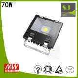 Indicatore luminoso di inondazione luminoso eccellente impermeabile dell'indicatore luminoso di inondazione di Tgs 70W LED LED