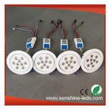 diodo emissor de luz Downlight de 9With15With27With8With24W RGB com o excitador do diodo emissor de luz do UL