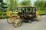 Novo casamento de casamento de design Royal Princess Horse Cart Carriage Pferdekutschen
