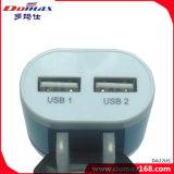 Carregador da parede do curso do USB do telefone móvel do carregador do USB micro
