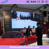 P6, P3 cubierta Alquiler todo color de fundición a presión de Pantalla Digital Pantalla LED placa del panel (CE, RoHS)