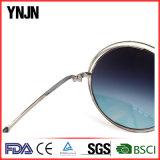 Ynjnの高品質UV400実質のRevoのコーティングのサングラスの女性のサングラス