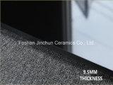 Azulejo de suelo Polished de la porcelana estupenda del negro 9.5m m