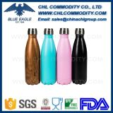 Impression pleine couleur Insulated Vacuum Cola Shape Swell Bottle