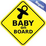 De 1st Baby van de veiligheid aan boord van het Teken van de Magneten van de Auto