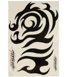 Autoadesivo provvisorio impermeabile di arte di corpo degli autoadesivi del tatuaggio del totem nero