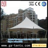 Tienda de la casa de la dimensión de una variable de la bóveda de la tienda de la estructura de acero de la cubierta de PVDF