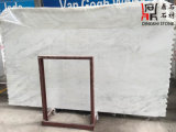 Слябы высокого качества востоковедные белые мраморный для домашних украшения/строительного материала