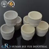 crogiolo di ceramica della coppella di 40*30*30mm 7A Megnesia