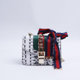 Gu1602. A forma das bolsas do desenhador do saco das senhoras das bolsas do saco de couro da vaca do vintage da bolsa do saco de ombro ensaca o saco das mulheres