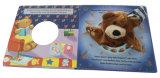 El más nuevo tacto 2017 y libro de la tarjeta de la sensación para los niños que aprenden el libro de Hardcover que corta el atascamiento con tintas perfecto para los cabritos
