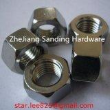 Gr8 acero al carbono galvanizado blanco DIN 934 Tuerca hexagonal