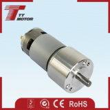motor eléctrico engranado 12V de la C.C. del cepillo para el equipo de diagnóstico