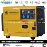 5kw Genset portatile diesel, generatore insonorizzato con Ce/ISO/Soncap/CIQ/SGS