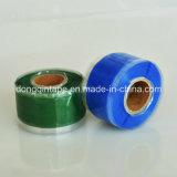 Ruban en caoutchouc silicone autofusable en gros avec spécifications 0.5mm * 25mm * 3m pour réparation