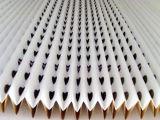 Tipo seco plegable plisado cartulina papel de filtro de la cabina de aerosol