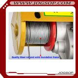 Mini élévateur électrique de câble métallique de PA500 220V